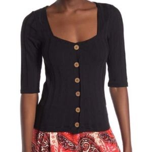 Free People Tops - Free people Central Park cardigan xs